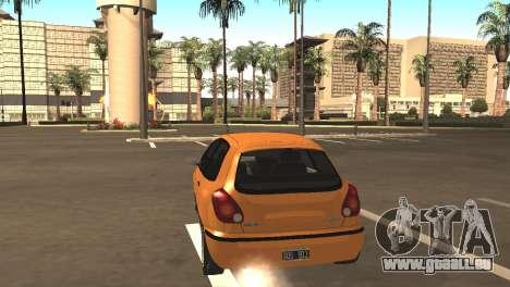 Fiat Bravo 16v pour GTA San Andreas vue de droite