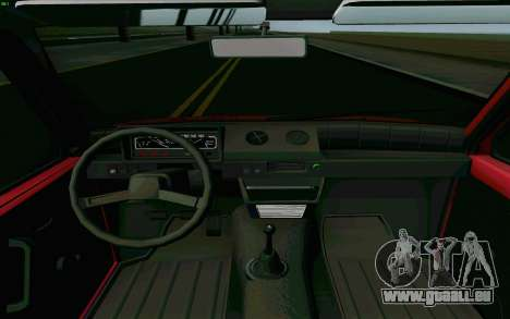 KAMAZ Oka pour GTA San Andreas vue intérieure