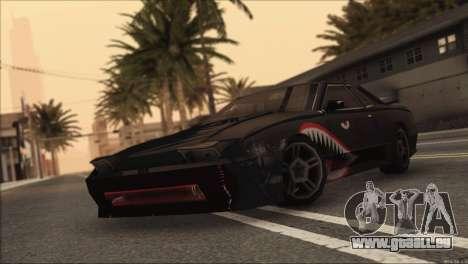 Elegy Sleep pour GTA San Andreas sur la vue arrière gauche
