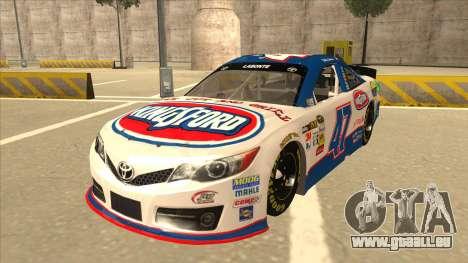 Toyota Camry NASCAR No. 47 Kingsford für GTA San Andreas