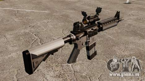 Automatique carabine M4 CQBR v2 pour GTA 4 secondes d'écran