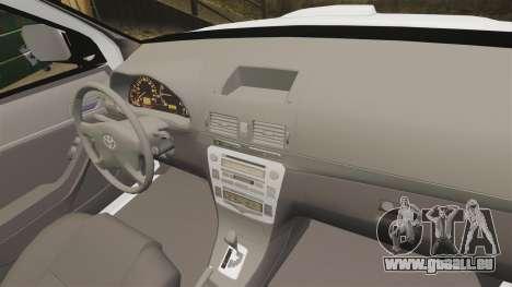 Toyota Hilux Croatian Police v2.0 [ELS] pour GTA 4 est un côté
