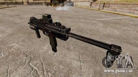 HK MP7 mitraillette v1 pour GTA 4 quatrième écran