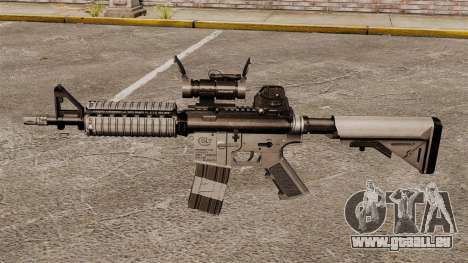 Automatische Carbine M4 CQBR v2 für GTA 4 dritte Screenshot