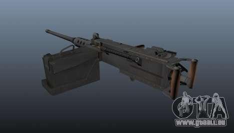 Maxim-Maschinengewehr Browning M2HB für GTA 4 Sekunden Bildschirm