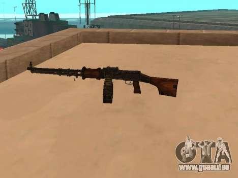 Mitrailleuse légère (RAP) [Réf. nécessaire] pour GTA San Andreas deuxième écran
