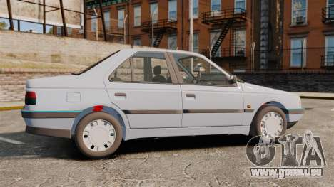Peugeot 405 GLX Final für GTA 4 linke Ansicht