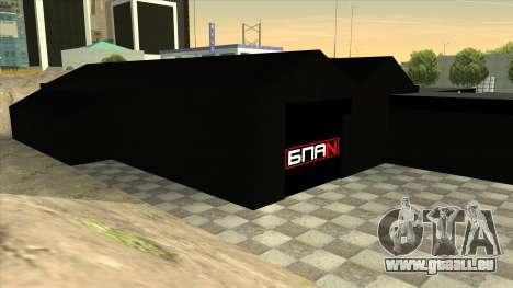 Le garage de Doherty BPAN pour GTA San Andreas cinquième écran