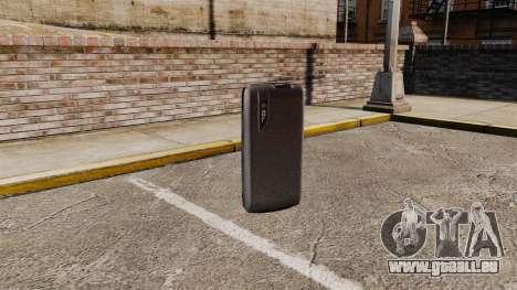 Communicator ZTE Blade pour GTA 4 troisième écran