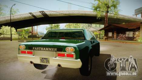 Fasthammer pour GTA San Andreas vue de droite