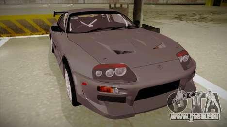 Toyota Supra RZ pour GTA San Andreas laissé vue