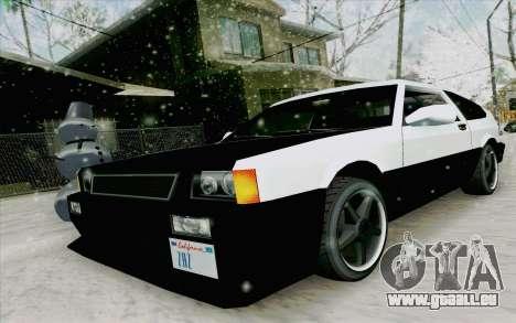 Blista Compact Type R pour GTA San Andreas laissé vue
