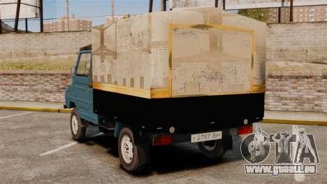 LuAZ-13021 für GTA 4 hinten links Ansicht