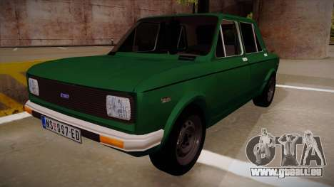 Zastava 128 1995 pour GTA San Andreas