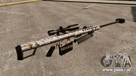 Le Barrett M82 sniper rifle v5 pour GTA 4 secondes d'écran