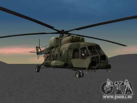 MIL MI-8 für GTA San Andreas rechten Ansicht