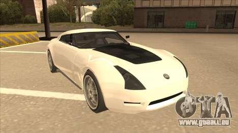 Melling Hellcat pour GTA San Andreas laissé vue