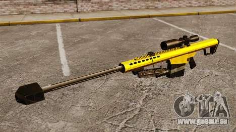 Le Barrett M82 sniper rifle v3 pour GTA 4 troisième écran