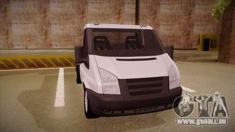 Ford Transit Drift Car pour GTA San Andreas laissé vue