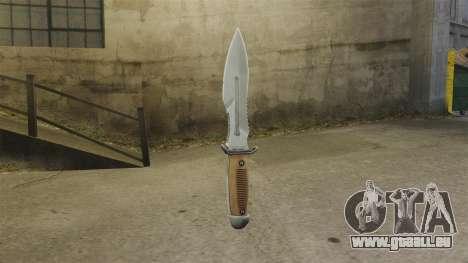 Couteau pour GTA 4 secondes d'écran