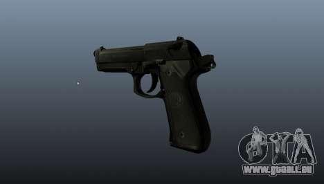 Beretta M9 Pistole für GTA 4 Sekunden Bildschirm