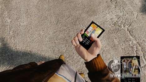 Le thème des personnages de GTA 5 pour GTA 4 troisième écran