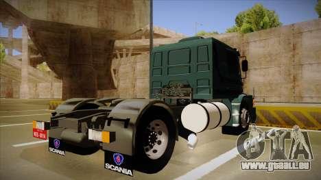 Scania 113H pour GTA San Andreas vue de droite