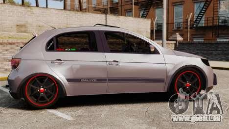 Volkswagen Gol Rally 2012 Socado Turbo für GTA 4 linke Ansicht