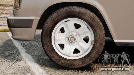 Volga gaz-3110 coupé pour GTA 4 Vue arrière