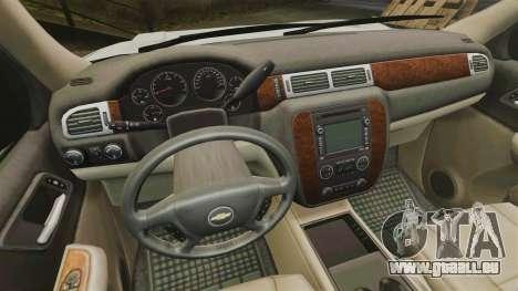 Chevrolet Tahoe Slicktop [ELS] v1 für GTA 4 Rückansicht