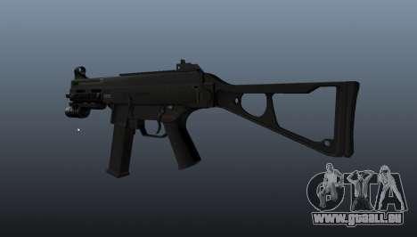 UMP45 mitraillette v2 pour GTA 4 secondes d'écran
