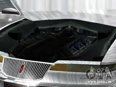 Lincoln Continental Mark VIII 1996 für GTA San Andreas rechten Ansicht