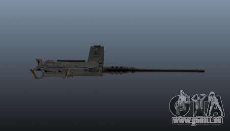 Maxim-Maschinengewehr Browning M2HB für GTA 4 dritte Screenshot