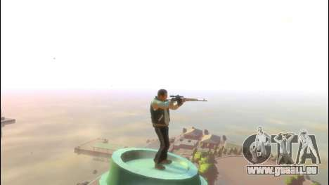 Dragunov Scharfschützengewehr für GTA 4 dritte Screenshot