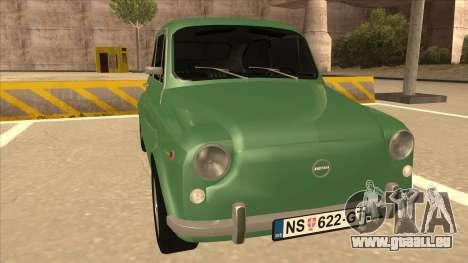 Zastava 750 Classic pour GTA San Andreas laissé vue