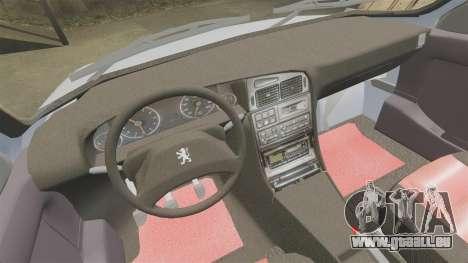 Peugeot 405 GLX Final für GTA 4 Innenansicht