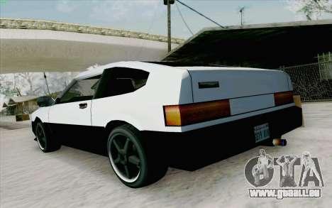 Blista Compact Type R pour GTA San Andreas vue de droite