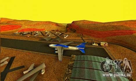 Andromada GTA V pour GTA San Andreas laissé vue