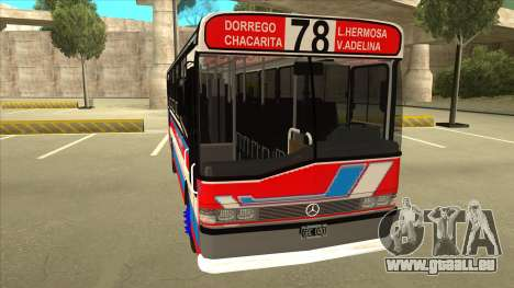 Mercedes-Benz OHL-1320 Linea 78 Los Andes für GTA San Andreas linke Ansicht