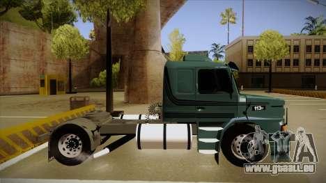 Scania 113H pour GTA San Andreas sur la vue arrière gauche