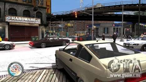 Map-Radar-HUD Pack pour GTA 4 sixième écran