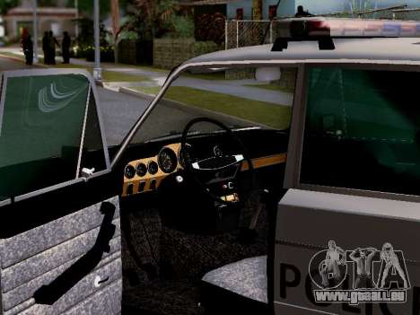 VAZ 2106 Los Santos Polizei für GTA San Andreas Motor
