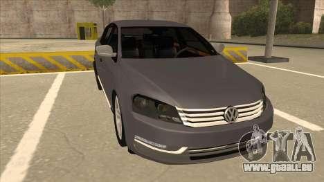 Volkswagen Passat 2.0 Turbo für GTA San Andreas linke Ansicht