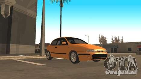 Fiat Bravo 16v pour GTA San Andreas vue arrière