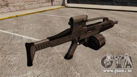 Automatique HK XM8 v3 pour GTA 4 secondes d'écran