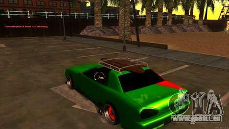 Elegy New Year for JDM pour GTA San Andreas vue de droite
