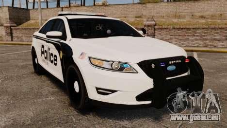 Ford Taurus Police Interceptor 2011 [ELS] für GTA 4