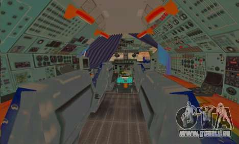 Andromada GTA V pour GTA San Andreas roue