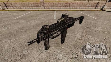 HK MP7 Maschinenpistole v1 für GTA 4 dritte Screenshot