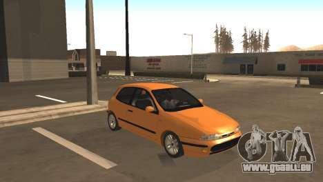 Fiat Bravo 16v pour GTA San Andreas laissé vue